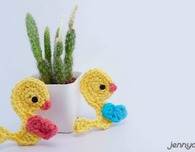 duckling easy applique free pattern