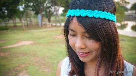 easy sheel stitch headband free pattern