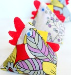 Chicken fabric weights