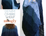 Denim Ombre Wrap