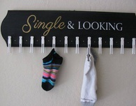 A Clever Board for the Lost Socks
