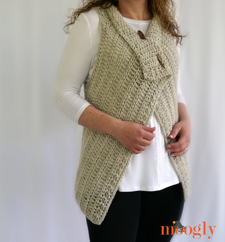 Simple Waterfall Vest