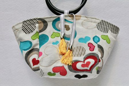 Small Canvas Tote Bag Free Sewing Pattern and Tutorial