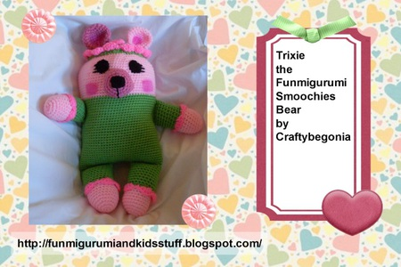 Trixie the Funmigurumi Smoochies Bear