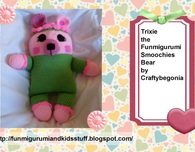 Trixie the Funmigurumi Smoochies Bear