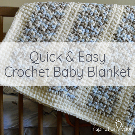 Quick & Easy Crochet Baby Blanket