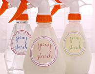 DIY spray starch