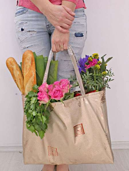 Reversible grocery bag pattern