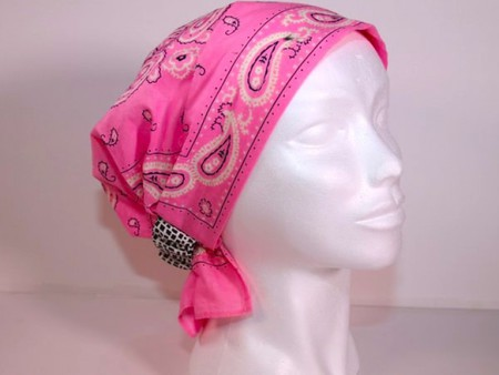 Free Chemo Headwear Pattern and Tutorial