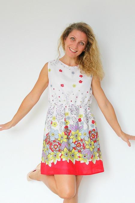 Summer dress free swing pattern