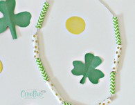St Patrick necklace craft