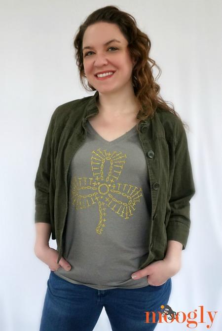 DIY Shamrock Crochet T-Shirt - Craftfoxes