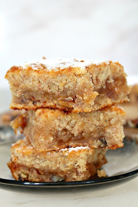 Vegan Banana Blondies