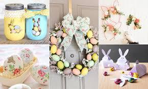 Top crafty ideas for Easter