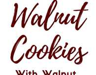 Walnut shaped cookies