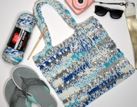 Fair Weather Beach Tote