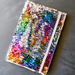 Mermaid Sequin Fabric Notebook