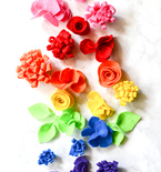 3 Easy Felt Flower Tutorials