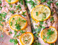Lemon butter fish