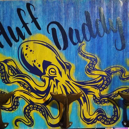 Huff Daddy's Grilling Sign