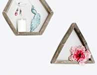 Stick shelves wall decor