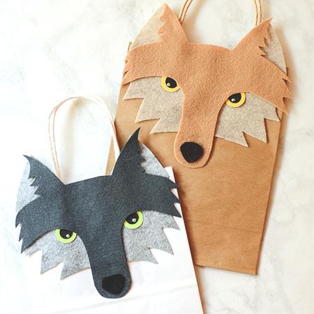 Wolf Gift Bag Tutorial