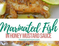 Honey mustard fish recipe