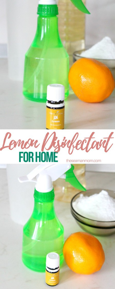 Natural disinfectant for home