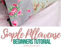 Basic pillowcase tutorial