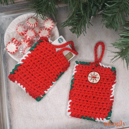 Hanging Gift Card Holder and Luggage Tag