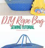 Rope bag tutorial