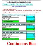 Bias calculator
