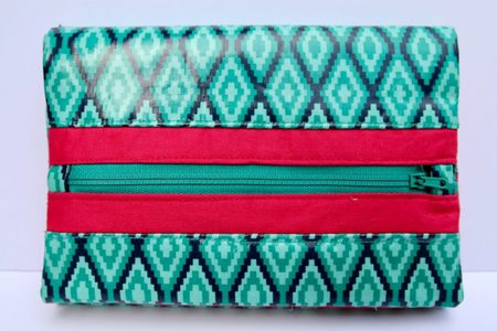 FREE & EASY Phone Wallet Organizer Pattern and Tutorial