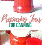 How to prepare jars for canning