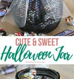 Halloween treat jar