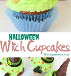 Witch cupcakes recipe
