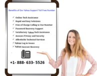 Yahoo Tech Support (888) 633-5526 Toll-Free Customer Service TelePhone Number