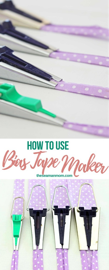 Making bias binding with a bias maker