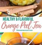 Orange peel tea