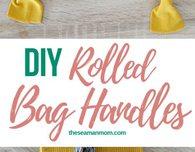 Corded bag handles tutorial