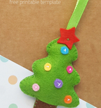 Felt Christmas Tree Craft
