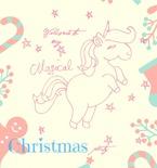 Unicorn Party Printables For Christmas