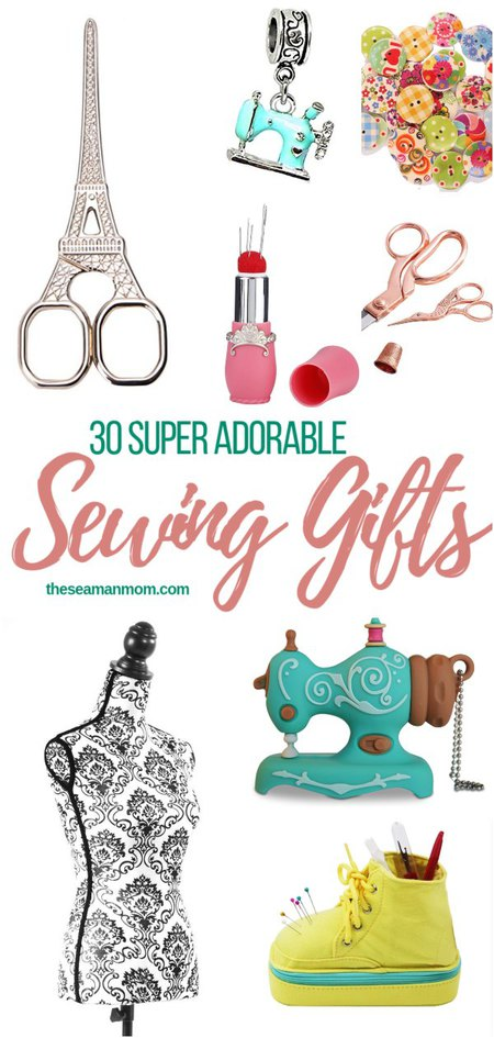 30 SEWING GIFTS IDEAS THAT ARE TOO ADORABLE TO PASS UP