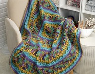 Waterlily Throw