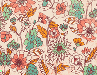 Fall Floral Patterns