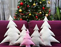 Christmas Tree Pillow Sewing Pattern