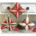 Easy to Sew Cathedral Window Ornaments