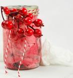 Edible Cranberry Slime