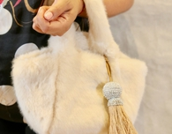 Small Fur Tote, a Sweet Gift for the Holidays