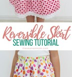 Reversible skirt sewing tutorial